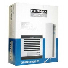 Fermax 06201 1 WAY CITYMAX AUDIO KIT WH TEL