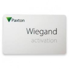 Paxton 125-201 Wiegand Activation Card with Genuine HID Technology™