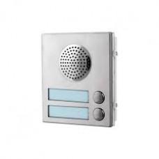 Videx 4837-2 -  2 Button Aluminium Speaker Module