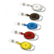 Yo-Yo Badge Reel Premier, Strap Fitting, 70cm Retract. Cord - BLACK