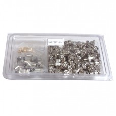 BOX OF 100X BNC CRIMP ON CONNECTORS