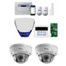 Pyronix Enforcer ENF-RKP/CAMKIT1  Wireless Burglar Alarm c/w 2 Dome Cameras