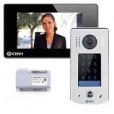 CDVi CDV4796KP-DX Black Video Entry Wifi Colour Kit 2Wire c/w Keypad