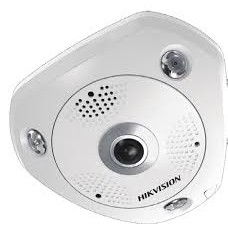 Hikvision IP 6MP DS-2CD6362F-IV 360° Panoramic External Fisheye Camera 1.27mm Lens