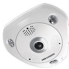 Hikvision IP 6MP DS-2CD6362F-IV 360° Panoramic External Fisheye Camera 1.27mm Lens