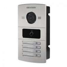 Hikvision Metal Villa Door Station Intercom DS-KV8402-IM 4 Door Button