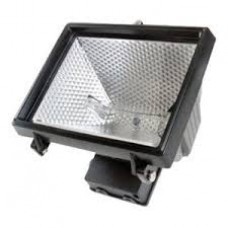 Time gaurd NCFB500C, Security 500 Energy Saving Halogen Floodlights - Black with 3yr Guarantee