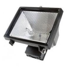 Time gaurd NCFB500C, Security 500 Energy Saving Halogen Floodlights - Black with 3yr Guarantee