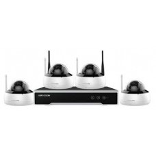 Hikvision  NK44W1H-1T(WD) 4 Channel Nvr Complete with 1TB 4MP Fixed Dome Wifi Kit