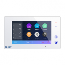 CDVI - CDV47DX Additional monitor with WIFI connection and mobile app, black or white