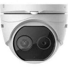 Hikvison DS-2TD1217-2/V1 Thermal & Optical Bi-Spectrum Network Turret Camera