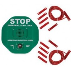 Exit Door Alarm For Double Doors - Green STI6402/G