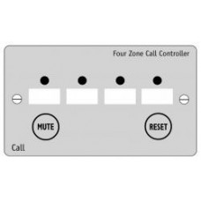 C-Tec NC944-SS 4 Zone Stainless Steel Controller Panel