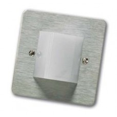C-Tec NC806CS-SS Overdoor Light and Sounder Stainless Steel