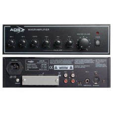 ADS 60 PLUS - 60w 100v Line Public Address Mixer Amplifier