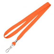 CTS-Direct AC218-OR-MC Breakaway Lanyard 80cm L Metal Clip 10mm W - ORANGE 100 Pack