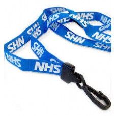 CTS-Direct AC222-NHS Lanyard 80cm L 15mm W - NHS 100 Pack