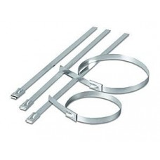 Cable Ties Stainless Steel 200 x 4.6 100 Pack