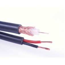 RG59 Coaxial Cable + 2 Core Power (Shotgun) 100m