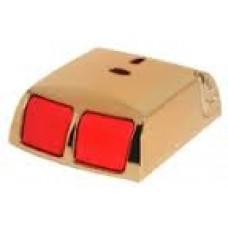 Elmdene ELM-PA-G3-W Brass Grade 3 Panic Double Push Button