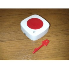 Knights Plastics Single Centre Push Mini Panic Button