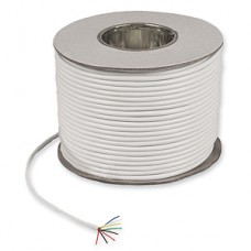8 Core White Alarm Cable