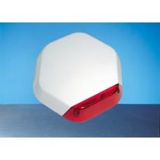 Elmdene Quartz 1000 Single Piezo Unit Grade 2 External Sounder White & Blue