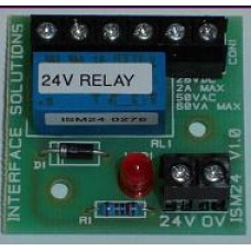 Interface Solutions 24 Volt Minature Relay