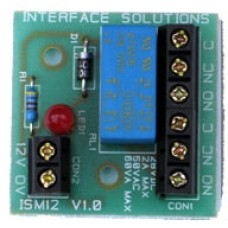 Interface Solutions 12 Volt Minature Relay
